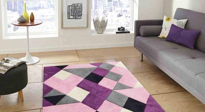 "Nicolo Carpet (Purple, 56 x 140 cm (22"" x 55"") Carpet Size) by Urban Ladder - Front View Design 1 - 305360"