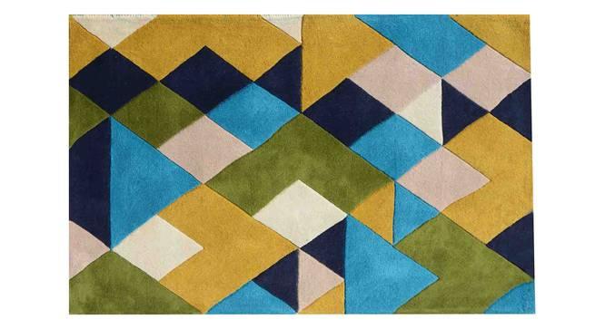 "Nicolo Carpet (Green, 122 x 183 cm  (48"" x 72"") Carpet Size) by Urban Ladder - Design 1 Details - 305377"