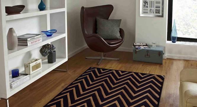 "Renata Carpet (Brown, 91 x 152 cm  (36"" x 60"") Carpet Size) by Urban Ladder - Front View Design 1 - 305430"