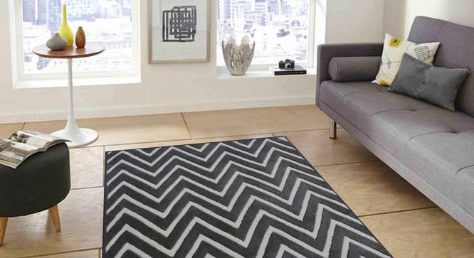 "Renata Carpet (Grey, 152 x 244 cm  (60"" x 96"") Carpet Size) by Urban Ladder - Front View Design 1 - 305498"