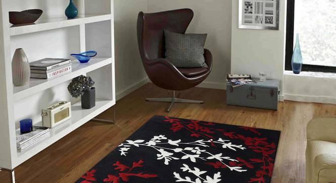 "Yamin Carpet (Red, 56 x 140 cm (22"" x 55"") Carpet Size) by Urban Ladder - Front View Design 1 - 305515"