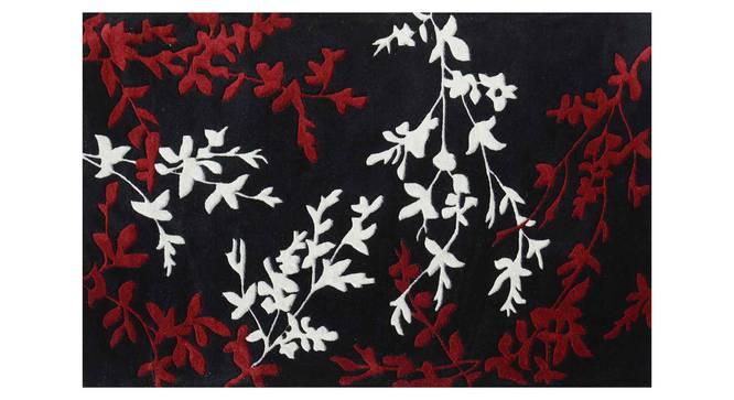 "Yamin Carpet (Red, 152 x 244 cm  (60"" x 96"") Carpet Size) by Urban Ladder - Design 1 Details - 305534"