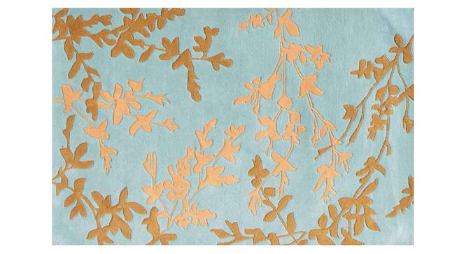 "Yamin Carpet (Blue, 56 x 140 cm (22"" x 55"") Carpet Size) by Urban Ladder - Design 1 Details - 305545"