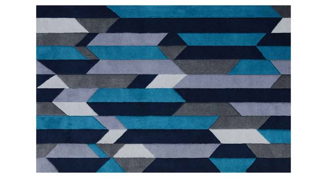 "Draco Carpet (Blue, 122 x 183 cm  (48"" x 72"") Carpet Size) by Urban Ladder - Design 1 Details - 305684"