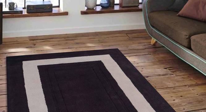 "Bianka Carpet (Brown, 183 x 274 cm  (72"" x 108"") Carpet Size) by Urban Ladder - Front View Design 1 - 305725"