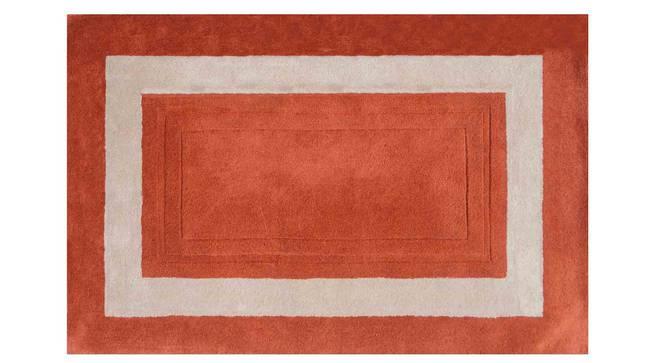 "Bianka Carpet (Orange, 91 x 152 cm  (36"" x 60"") Carpet Size) by Urban Ladder - Design 1 Details - 305798"