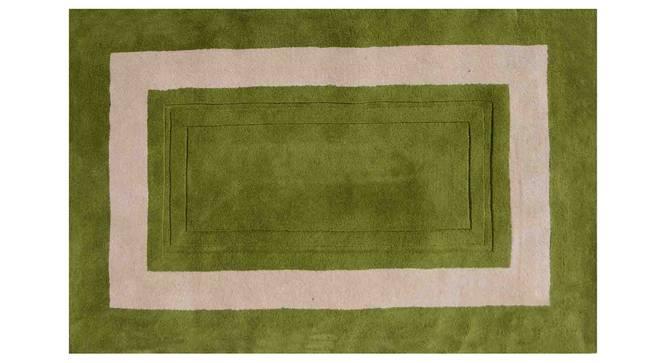 "Bianka Carpet (Green, 183 x 274 cm  (72"" x 108"") Carpet Size) by Urban Ladder - Design 1 Details - 305846"
