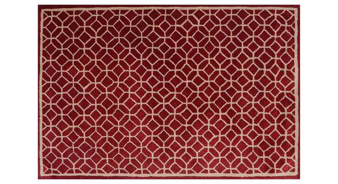 "Elena Carpet (Red, 122 x 183 cm  (48"" x 72"") Carpet Size) by Urban Ladder - Design 1 Details - 305924"