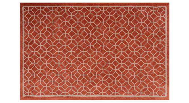"Elena Carpet (Orange, 152 x 244 cm  (60"" x 96"") Carpet Size) by Urban Ladder - Design 1 Details - 305960"
