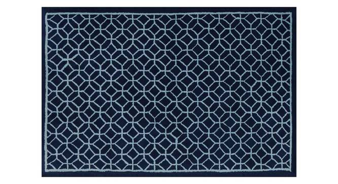 "Elena Carpet (Blue, 152 x 244 cm  (60"" x 96"") Carpet Size) by Urban Ladder - Design 1 Details - 305990"
