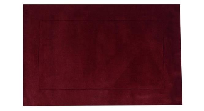 "Leora Carpet (Maroon, 183 x 274 cm  (72"" x 108"") Carpet Size) by Urban Ladder - Design 1 Details - 306032"