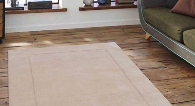 "Leora Carpet (Beige, 91 x 152 cm  (36"" x 60"") Carpet Size) by Urban Ladder - Front View Design 1 - 306043"