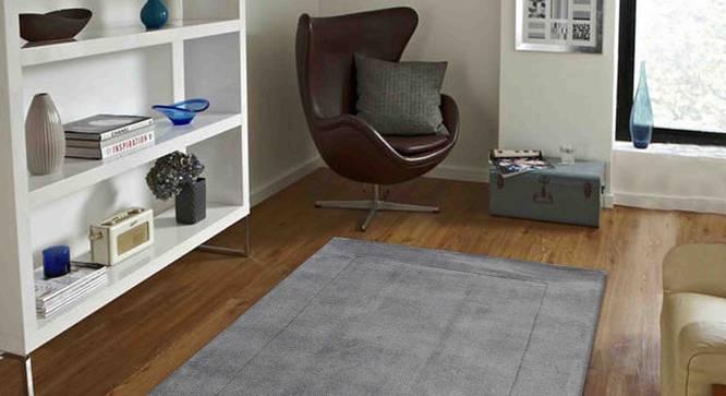 "Leora Carpet (Grey, 56 x 140 cm (22"" x 55"") Carpet Size) by Urban Ladder - Front View Design 1 - 306204"