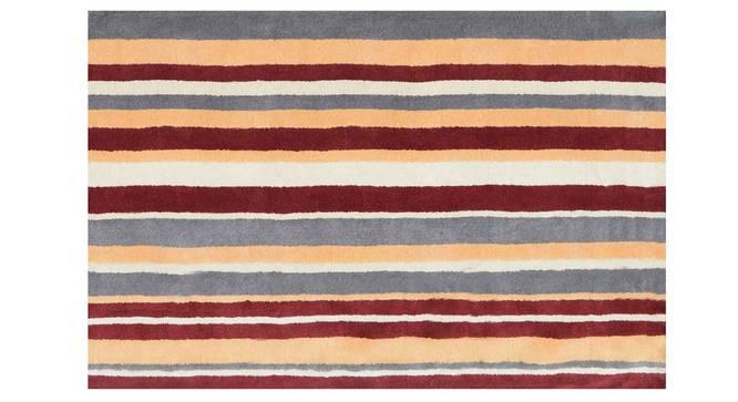 "Selvico Carpet (122 x 183 cm  (48"" x 72"") Carpet Size, Maroon) by Urban Ladder - Design 1 Details - 306260"