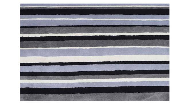 "Selvico Carpet (122 x 183 cm  (48"" x 72"") Carpet Size, Black and White) by Urban Ladder - Design 1 Details - 306350"