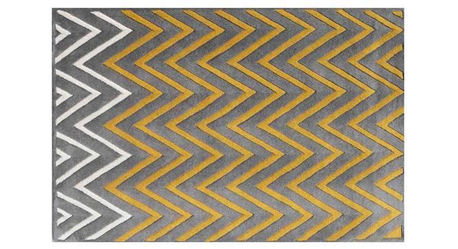 "Zesta Carpet (Grey, 91 x 152 cm  (36"" x 60"") Carpet Size) by Urban Ladder - Design 1 Details - 306434"