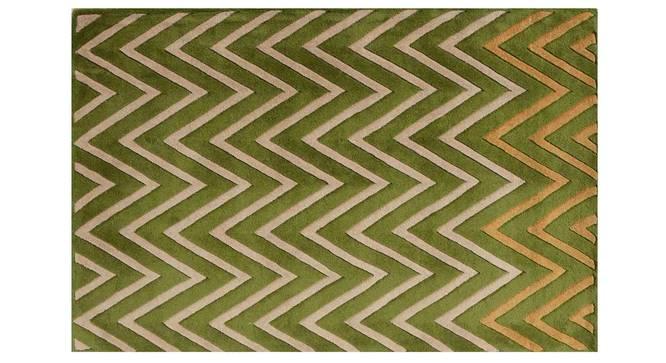 "Zesta Carpet (Green, 91 x 152 cm  (36"" x 60"") Carpet Size) by Urban Ladder - Design 1 Details - 306464"