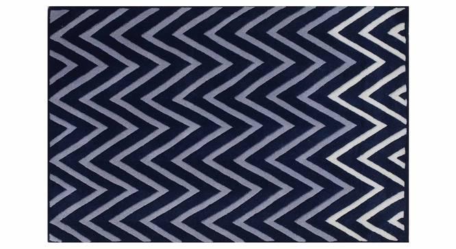 "Zesta Carpet (Blue, 122 x 183 cm  (48"" x 72"") Carpet Size) by Urban Ladder - Design 1 Details - 306495"