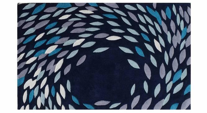 "Antonia Carpet (Blue, 122 x 183 cm  (48"" x 72"") Carpet Size) by Urban Ladder - Design 1 Details - 306554"