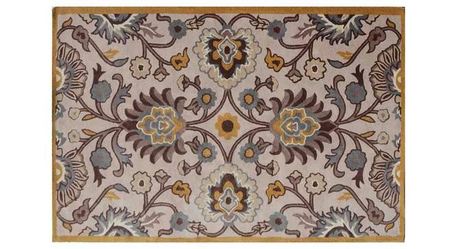 "Tishtar Carpet (Brown, 152 x 244 cm  (60"" x 96"") Carpet Size) by Urban Ladder - Design 1 Details - 306584"