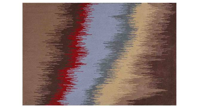 "Geonna Carpet (Red, 152 x 244 cm  (60"" x 96"") Carpet Size) by Urban Ladder - Design 1 Details - 306608"