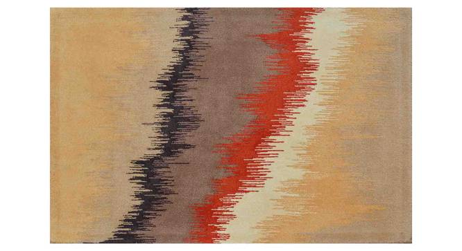 "Geonna Carpet (Orange, 183 x 274 cm  (72"" x 108"") Carpet Size) by Urban Ladder - Design 1 Details - 306638"