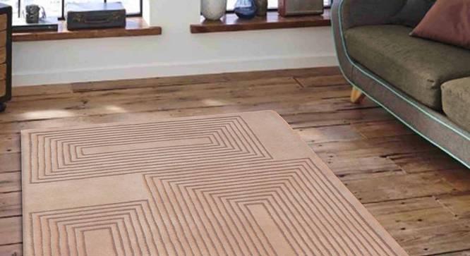 "Dario Carpet (Beige, 122 x 183 cm  (48"" x 72"") Carpet Size) by Urban Ladder - Front View Design 1 - 306691"