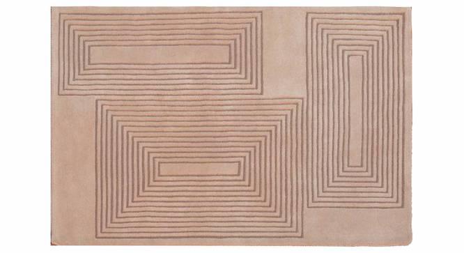 """Dario Carpet (Beige, 152 x 244 cm  (60"""" x 96"""") Carpet Size) by Urban Ladder - Design 1 Details - 306698"""