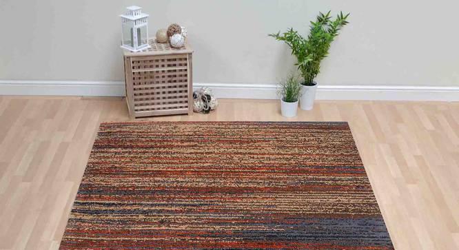"Julio Carpet (Orange, 122 x 183 cm  (48"" x 72"") Carpet Size) by Urban Ladder - Front View Design 1 - 306811"