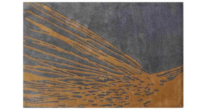 "Armond Carpet (Gold, 152 x 244 cm  (60"" x 96"") Carpet Size) by Urban Ladder - Design 1 Details - 307347"