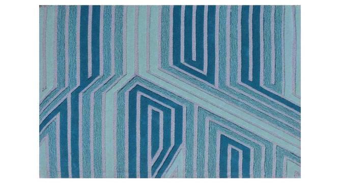 "Marcell Carpet (Blue, 152 x 244 cm  (60"" x 96"") Carpet Size) by Urban Ladder - Design 1 Details - 307401"