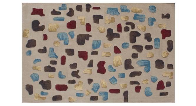 """Maurano Carpet (Beige, 122 x 183 cm  (48"""" x 72"""") Carpet Size) by Urban Ladder - Design 1 Details - 307443"""