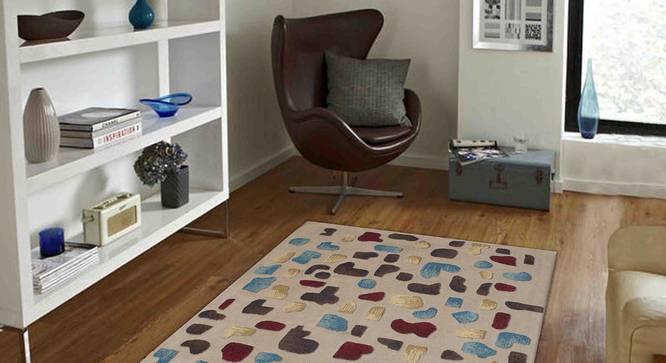 "Maurano Carpet (Beige, 183 x 274 cm  (72"" x 108"") Carpet Size) by Urban Ladder - Front View Design 1 - 307454"