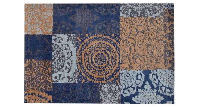 "Uberto Carpet (Blue, 152 x 213 cm  (60"" x 84"") Carpet Size) by Urban Ladder - Design 1 Details - 307629"