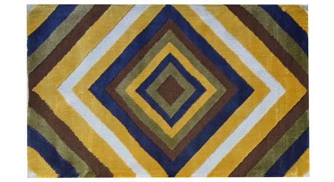 "Bernard Carpet (Yellow, 183 x 274 cm  (72"" x 108"") Carpet Size) by Urban Ladder - Design 1 Details - 307904"