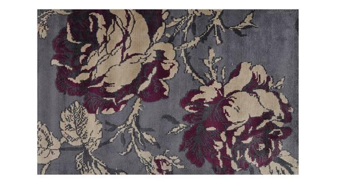 "Rosa Carpet (Grey, 91 x 152 cm  (36"" x 60"") Carpet Size) by Urban Ladder - Design 1 Details - 308061"