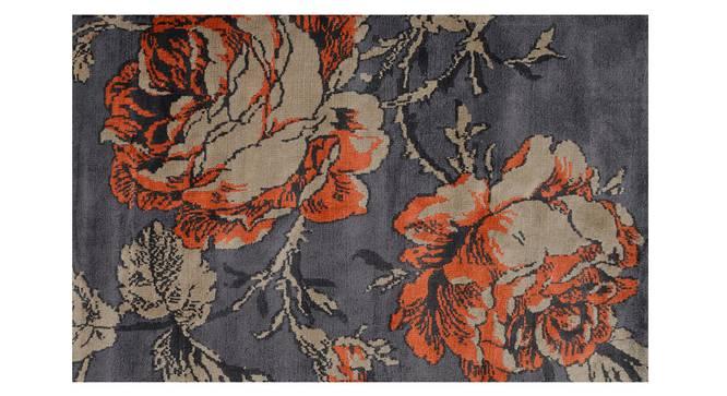 """Rosa Carpet (Rust, 183 x 274 cm  (72"""" x 108"""") Carpet Size) by Urban Ladder - Design 1 Details - 308064"""