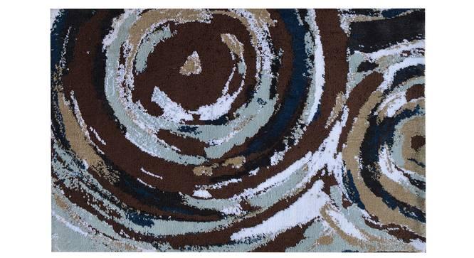 "Fabia Carpet (Brown, 122 x 183 cm  (48"" x 72"") Carpet Size) by Urban Ladder - Design 1 Details - 308218"