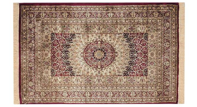 "Kambiz Carpet (Red, 122 x 183 cm  (48"" x 72"") Carpet Size) by Urban Ladder - Design 1 Details - 308530"