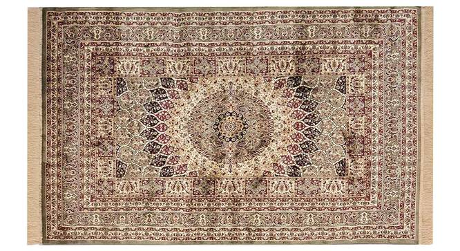 "Kambiz Carpet (Green, 122 x 183 cm  (48"" x 72"") Carpet Size) by Urban Ladder - Design 1 Details - 308547"