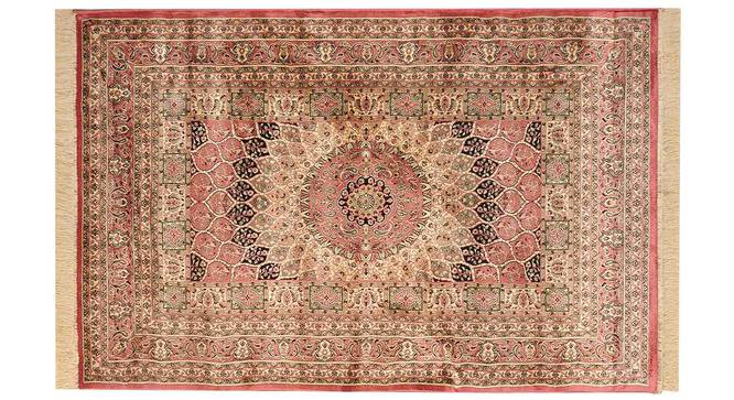 "Kambiz Carpet (Orange, 152 x 213 cm  (60"" x 84"") Carpet Size) by Urban Ladder - Design 1 Details - 308553"