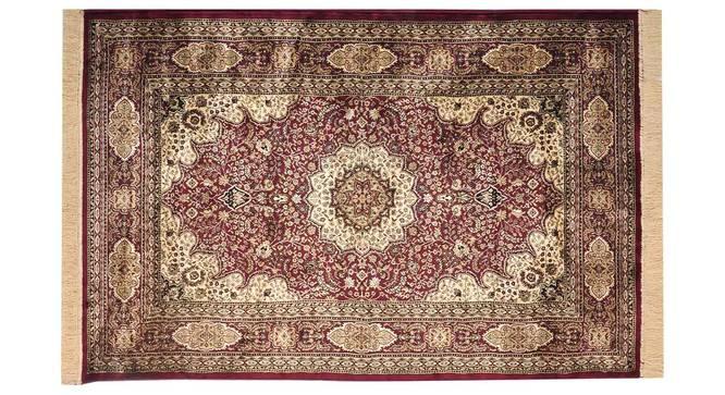 "Mehrak Carpet (Red, 152 x 213 cm  (60"" x 84"") Carpet Size) by Urban Ladder - Design 1 Details - 308598"