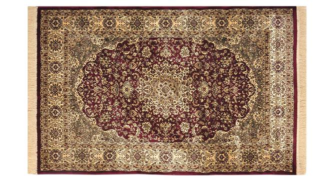 "Pirouz Carpet (Red, 122 x 183 cm  (48"" x 72"") Carpet Size) by Urban Ladder - Design 1 Details - 308620"