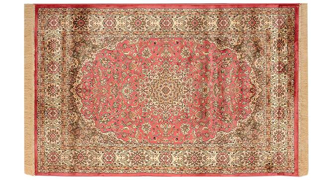 "Pirouz Carpet (Orange, 152 x 213 cm  (60"" x 84"") Carpet Size) by Urban Ladder - Design 1 Details - 308647"