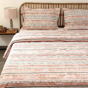 Meghwal Duvet Cover (Grey, Single Size) by Urban Ladder - Front View Design 1 - 308930