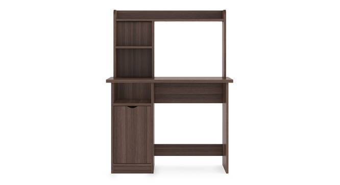 Bond Study Table (Dark Acacia Finish) by Urban Ladder - Front View Design 1 - 309056