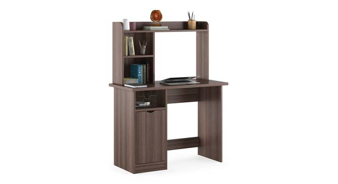 Bond Study Table (Dark Acacia Finish) by Urban Ladder - Design 1 Half View - 309060