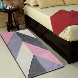 """Monte Table Runner (Pink, 56 x 140 cm (22"""" x 55"""") Table Linen Size) by Urban Ladder - Front View Design 1 - 309134"""
