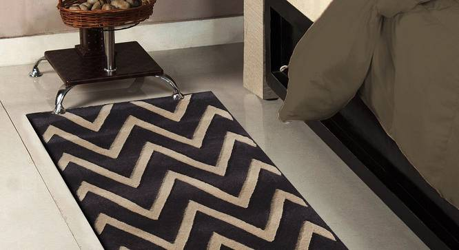 """Renata Table Runner (Brown, 56 x 140 cm (22"""" x 55"""") Table Linen Size) by Urban Ladder - Front View Design 1 - 309158"""
