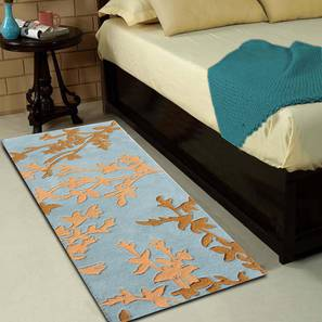 """Yamin Table Runner (Gold, 56 x 140 cm (22"""" x 55"""") Table Linen Size) by Urban Ladder - Front View Design 1 - 309170"""